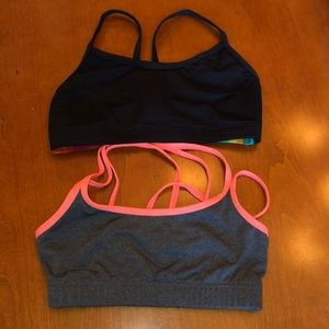 Set of two dance tops